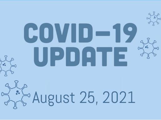 COVID-19 Update, August 25