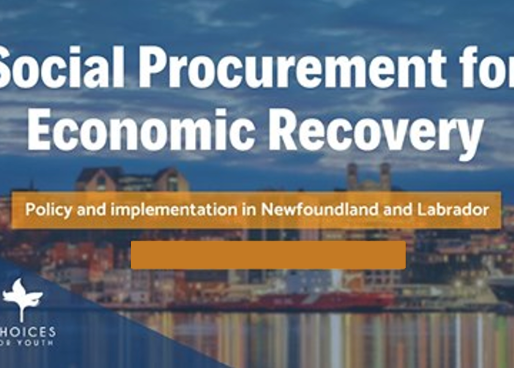 Public Funds for Social Good: Leveraging Social Procurement for NL's Economic Recovery