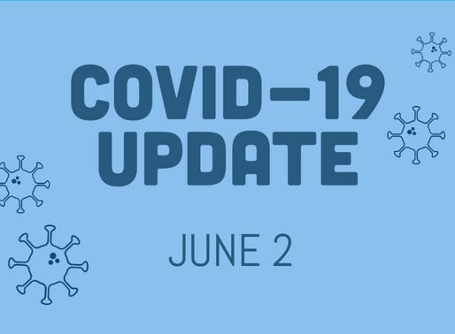COVID-19 Update, June 2