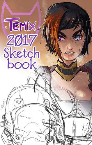 Temixart 2017 Digital Sketchbook