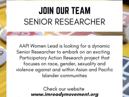 Join Our Team! Senior Researcher Position
