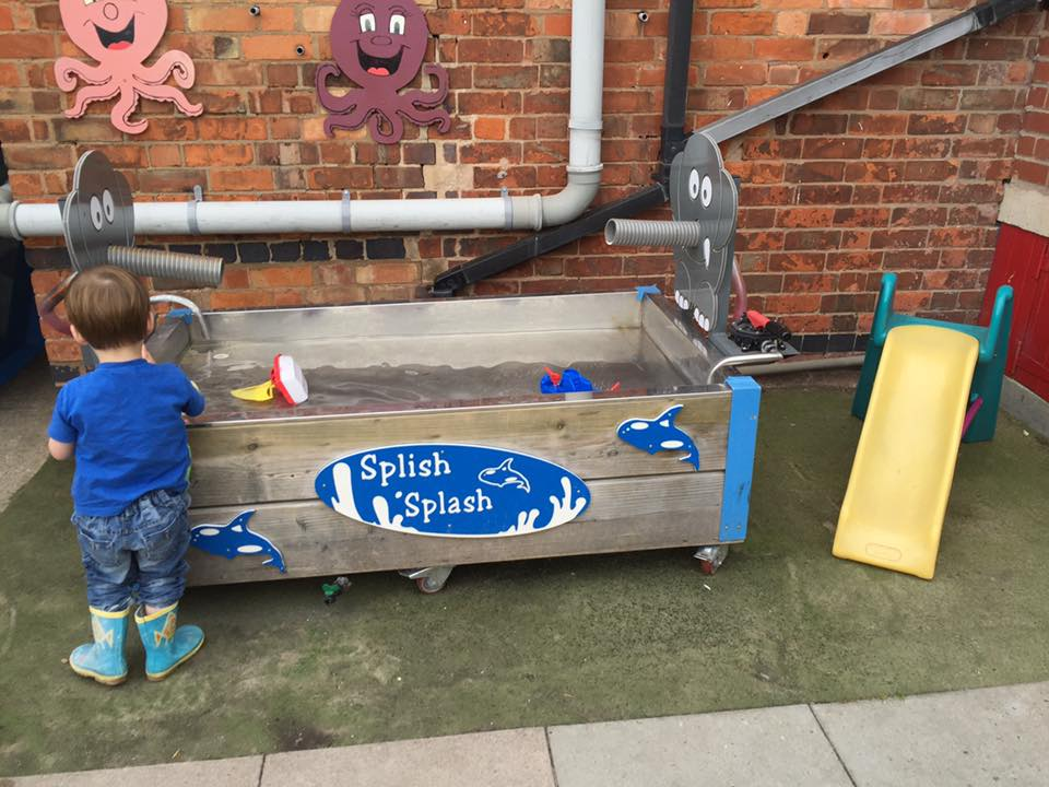 Wet Play Outside!