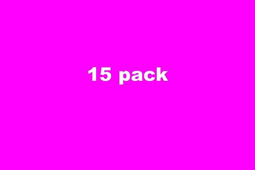 15 Class Pack