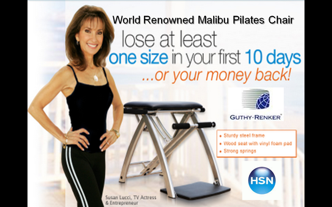 Susan Lucci For Malibu Pilates