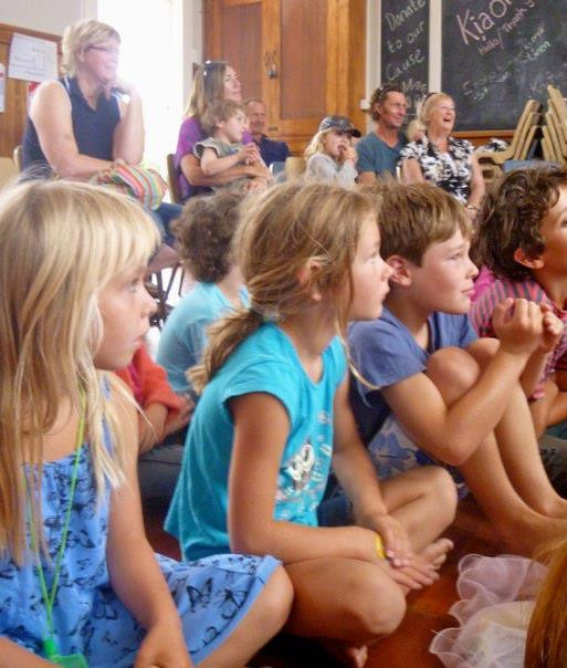 The kids were captivated!