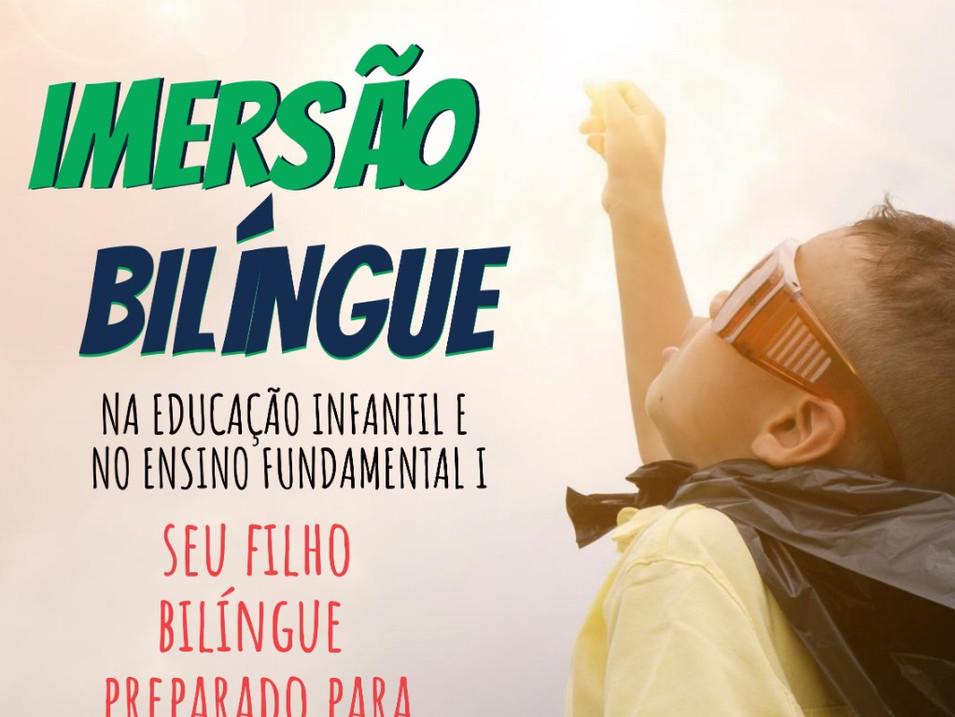 Curso Imersão Bilíngue