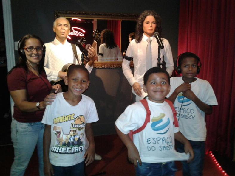 Visita ao Museu de Cera