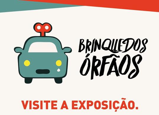 Exposição de Brinquedos Órfãos chega a Goiânia