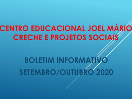 Boletim informativo - Setembro e Outubro/2020