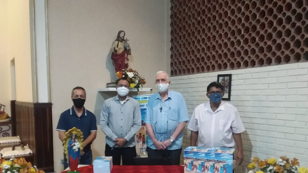 Lançamento livro padre Miguel Ramon