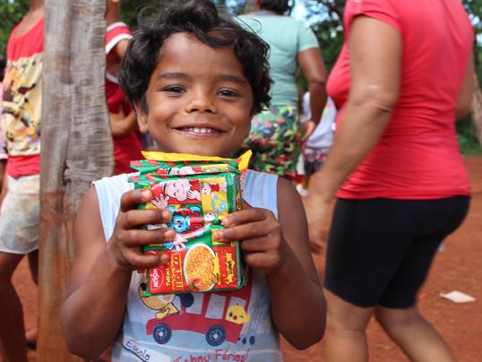 Campanha Um Freio na Fome arrecada quase 2 toneladas de alimentos