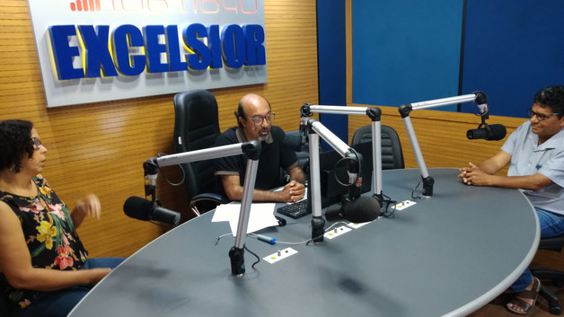 Entrevista na rádio Excelsior da Bahia