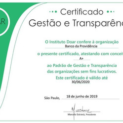 Pelo Segundo Ano Conquistamos O Selo A+ Em Gestão De Transparência