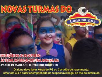 Lona na Lua abre inscrições para novas turmas em Rio Bonito