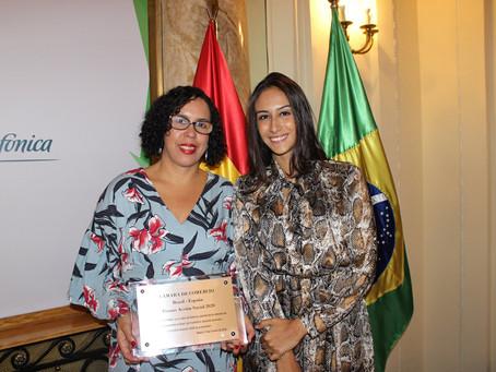 Acopamec recebe prêmio na Espanha
