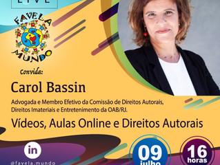 Live: aulas remotas e direitos autorais