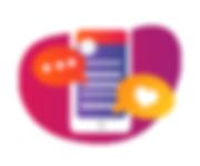 icone gerencialmento de conteúdo para ongs