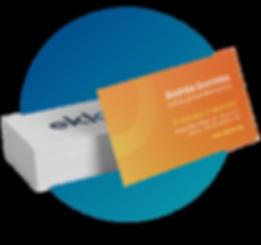 cartão de visitas ekloos