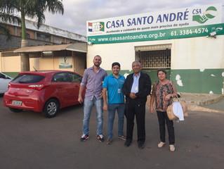 CSA recebe visita do Bispo de Parnaíba-PI