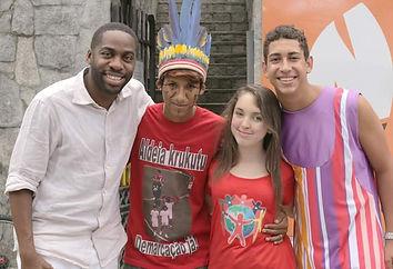 Vote no Lucas, aluno do Lona na Lua. Click Esperança, Criança Esperança, Fantástico.