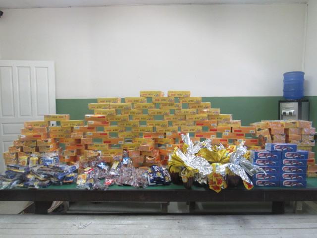 Lar Santa Catarina agradece às doações de Páscoa