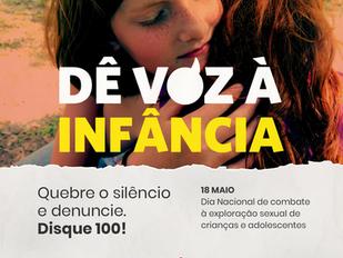 Dia Nacional de Combate ao Abuso e Exploração Sexual Infanto Juvenil
