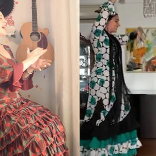 Baile Flamenco: Separadas Pela Distância, Unidas Pelo Flamenco