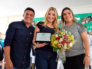 CSA recebe visita da primeira-dama do Brasil, Marcela Temer