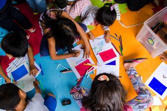 Mini festival de curtas provoca reflexão sobre as trajetórias individuais e coletivas nas crianças p
