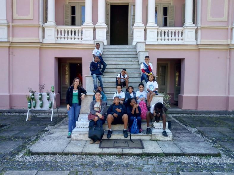 Passeio para o Palácio Itaboraí
