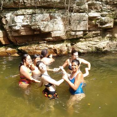 Passeio para a cachoeira