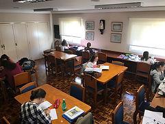 estudos, sala, conhecimento, igaraçu, ong