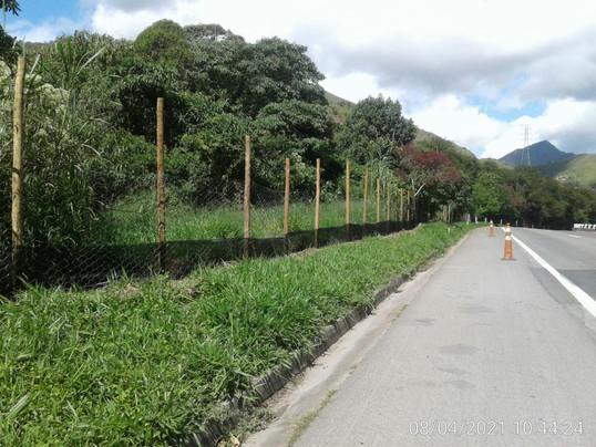 Concer amplia cercas de proteção à fauna silvestre