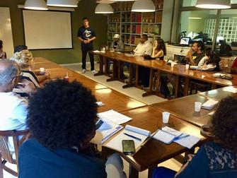 Zeca Novais palestra em evento do Instituto Cidade Viva