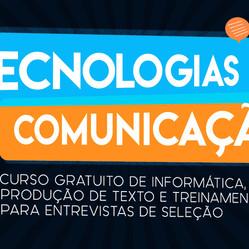 Inscrições abertas para o Curso Tecnologias da Comunicação