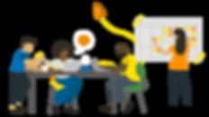 edita, programa de aceleração social, salvador, coelba, neoenergia, ong, osc, negócios sociais, aceleração social, impacto, socal, bahia, oportuniade, terceiro setor, ilustração, vector art