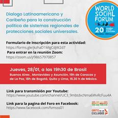 Diálogo latino-americano e caribenho para a construção política de sistemas regionais de seguridade