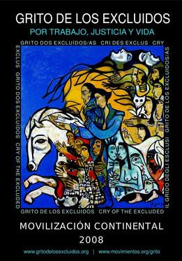 Cartaz Grito Continental 2008
