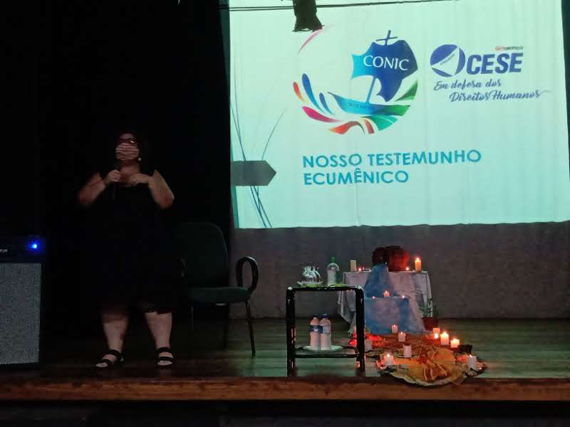 Pastora Bianca da CESE reforça a importância da temática da campanha deste ano