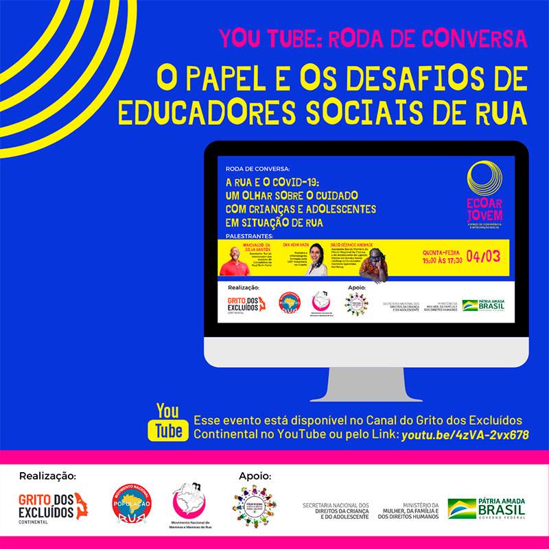 ECOAR JOVEM - O PAPEL E OS DESAFIOS DE EDUCADORES SOCIAIS DE RUA