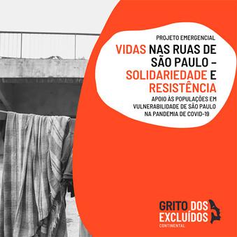 Projeto Emergencial Solidariedade na Cidade Invisível