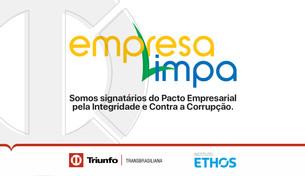 Triunfo Transbrasiliana é signatária do Pacto Empresarial pela Integridade e Contra a Corrupção