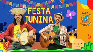 Favela Mundo celebra festas juninas em casa