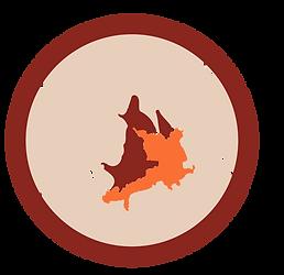 Ampliação do mapa com localização do povo Yanomami