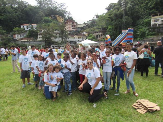 Alunos participam de evento promovido pelo CMDCA