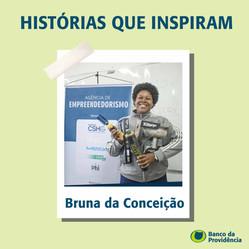 História que inspiram: A História de Bruna