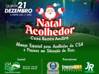 Natal Acolhedor Casa Santo André