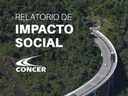 Concer divulga relatório de Impacto Social