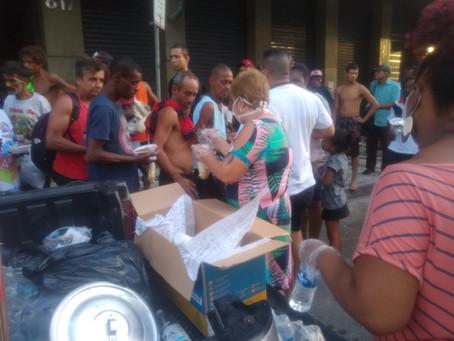 Casa de Joel promove Sopão solidário para pessoas em situação de rua
