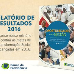 Confira em primeira mão o Relatório de Resultados 2016!